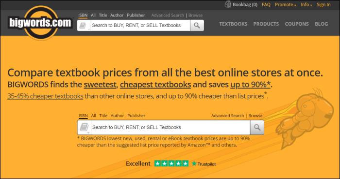 bigwords textbook rentals