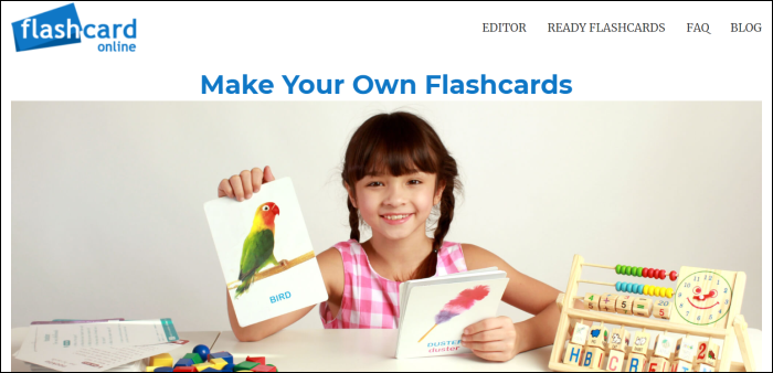 flashcards online home page