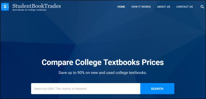 student book trades textbook rentals