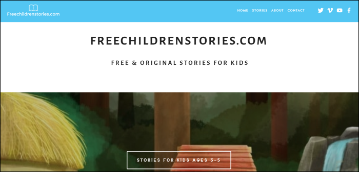 free children stories home page