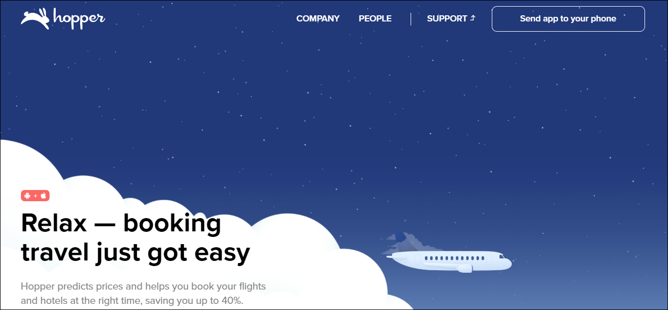 hopper home page