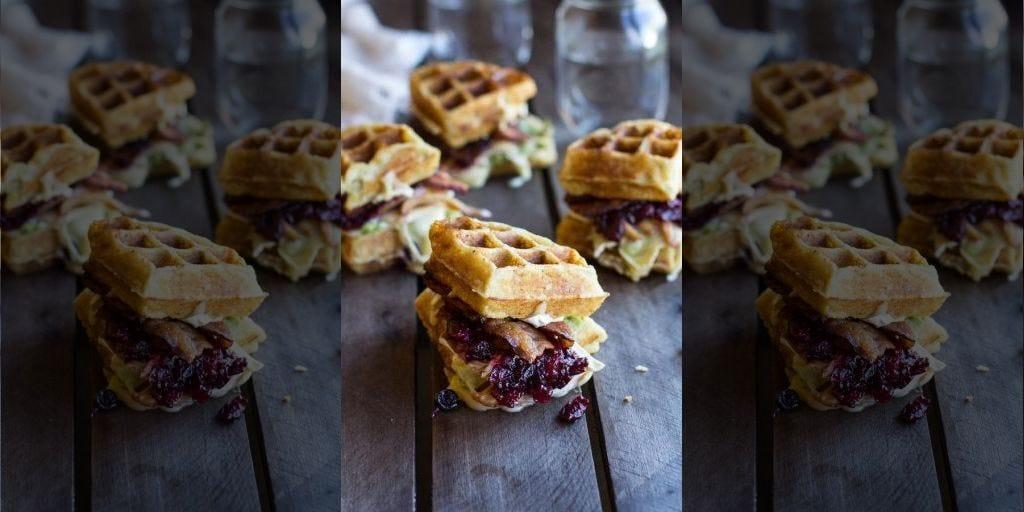 Tieghan Gerard - Half Baked Harvest, waffle breakfast sandiwches