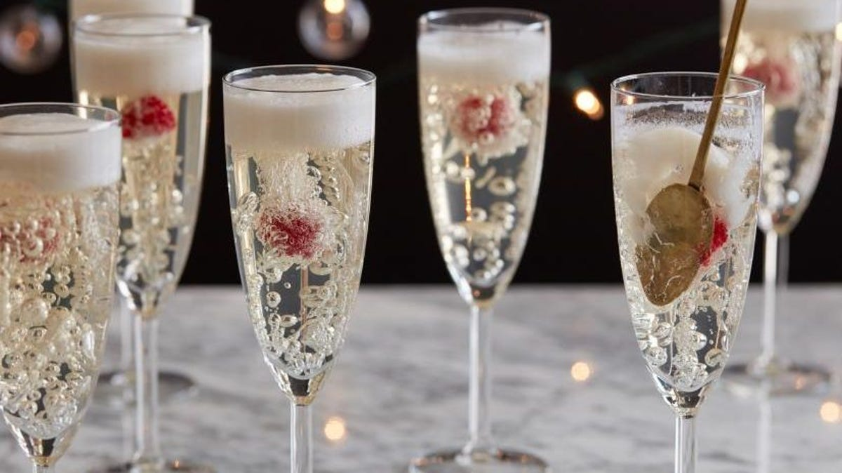 champagne jello flutes from foodnetwork.com