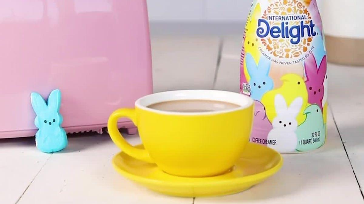peeps coffee creamer