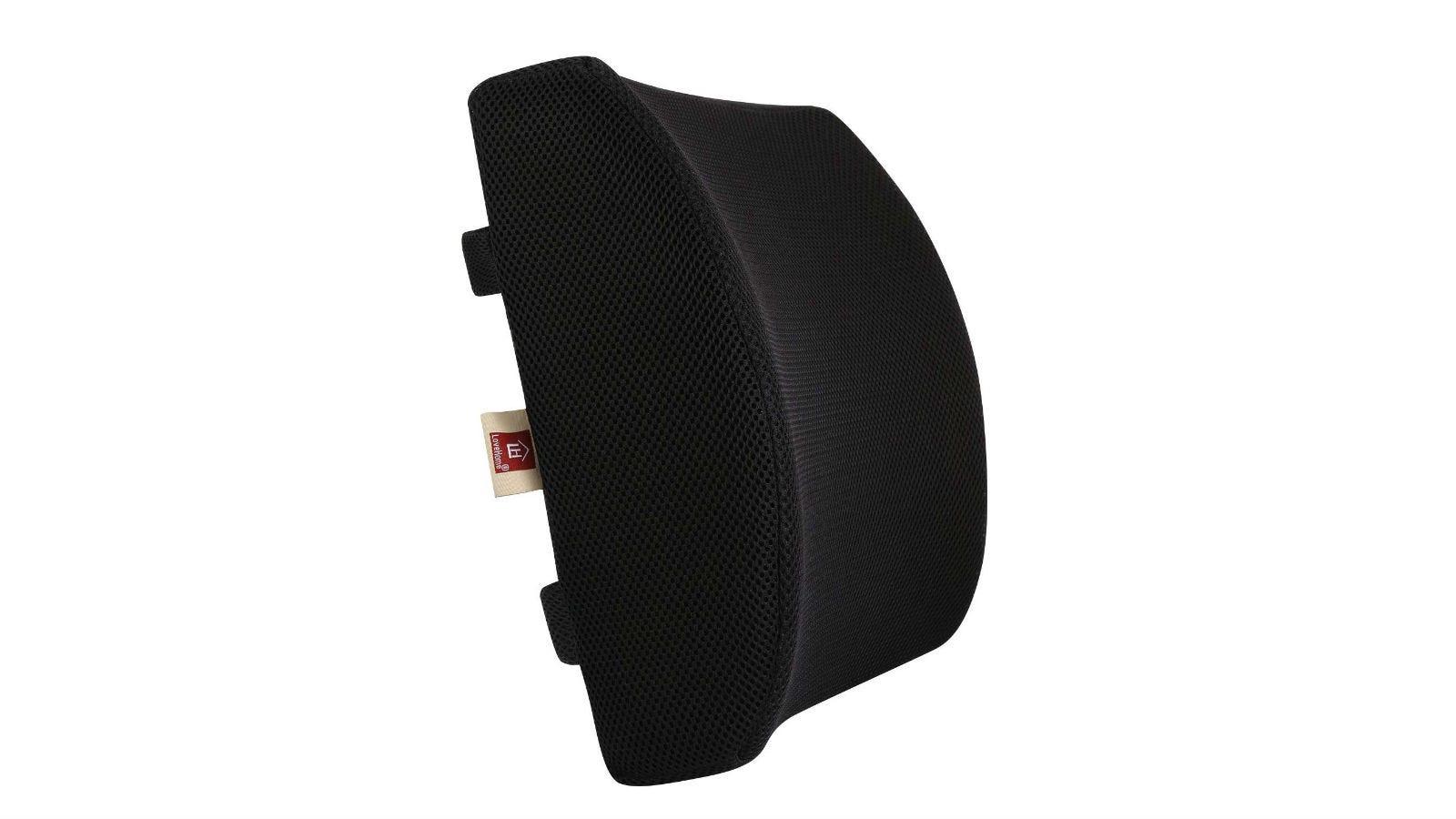LoveHome Memory Foam Lumbar Support Back Pillow