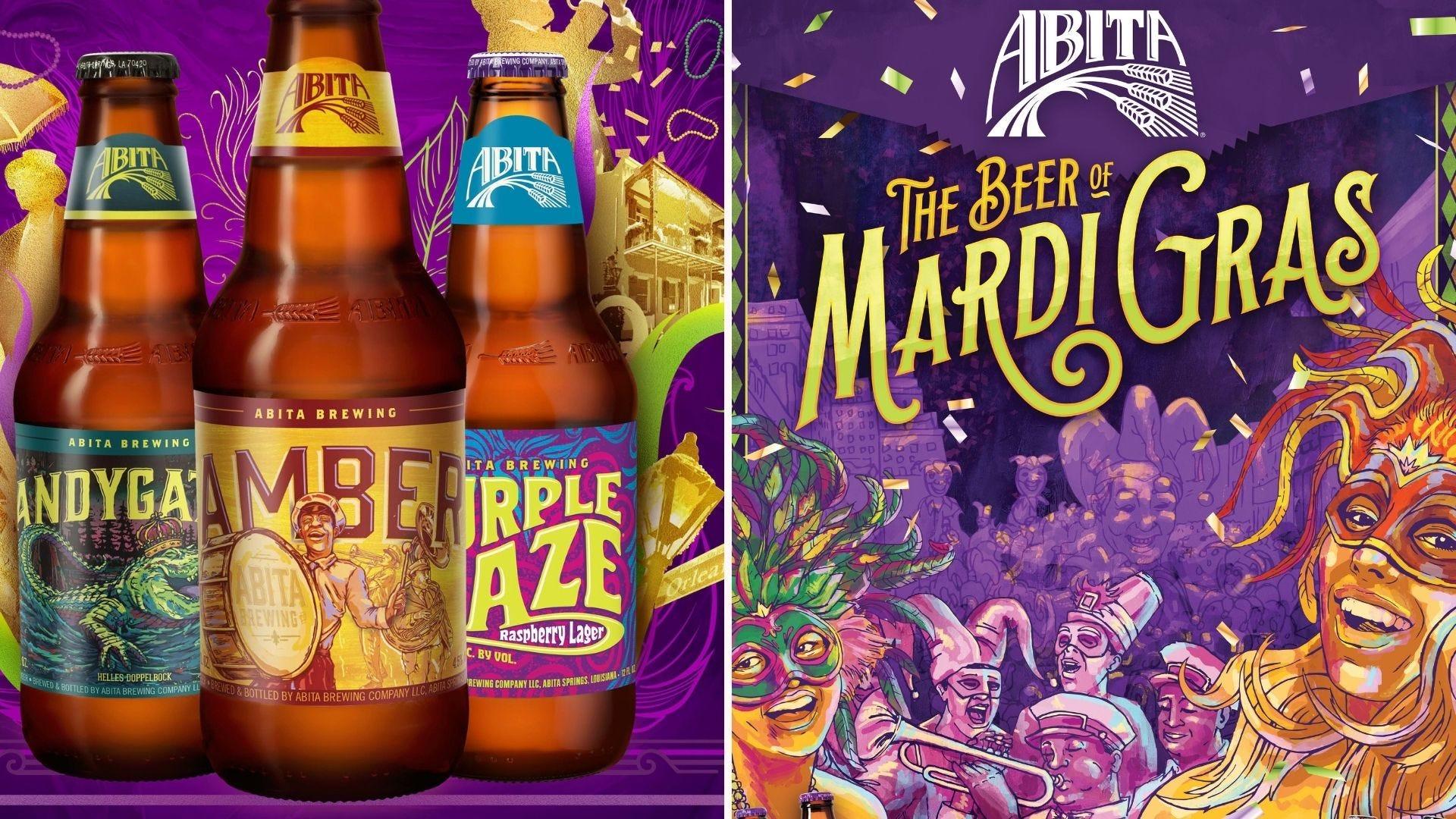 Examples of Abita beers.