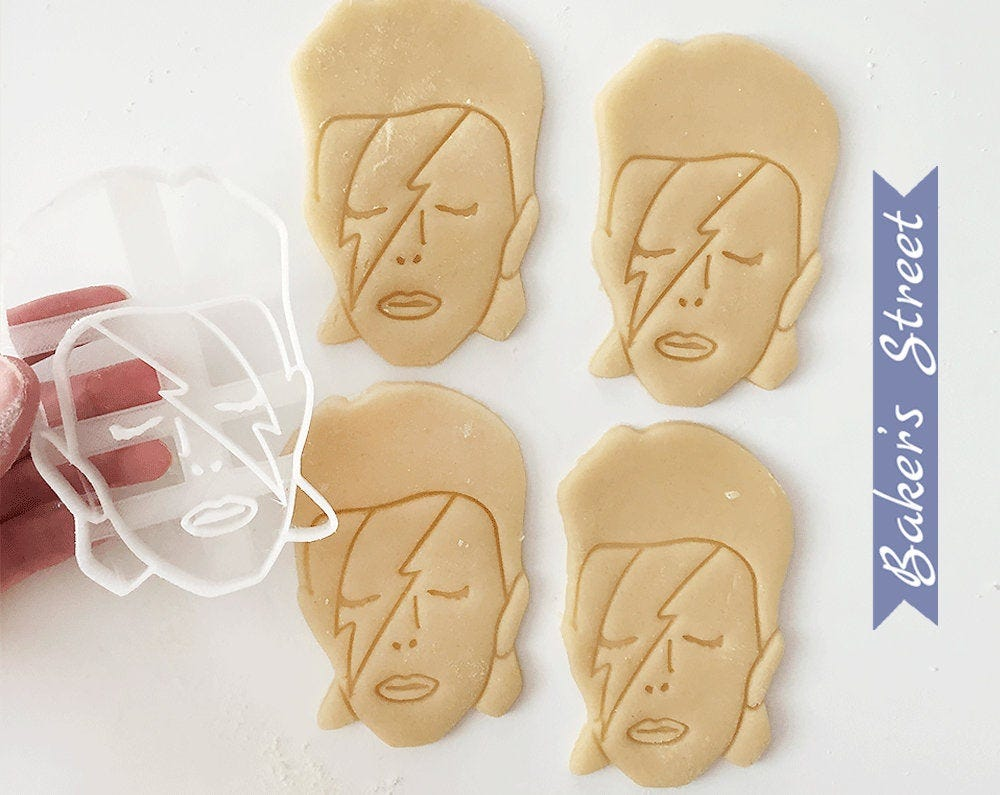 David Bowie cookie cutters