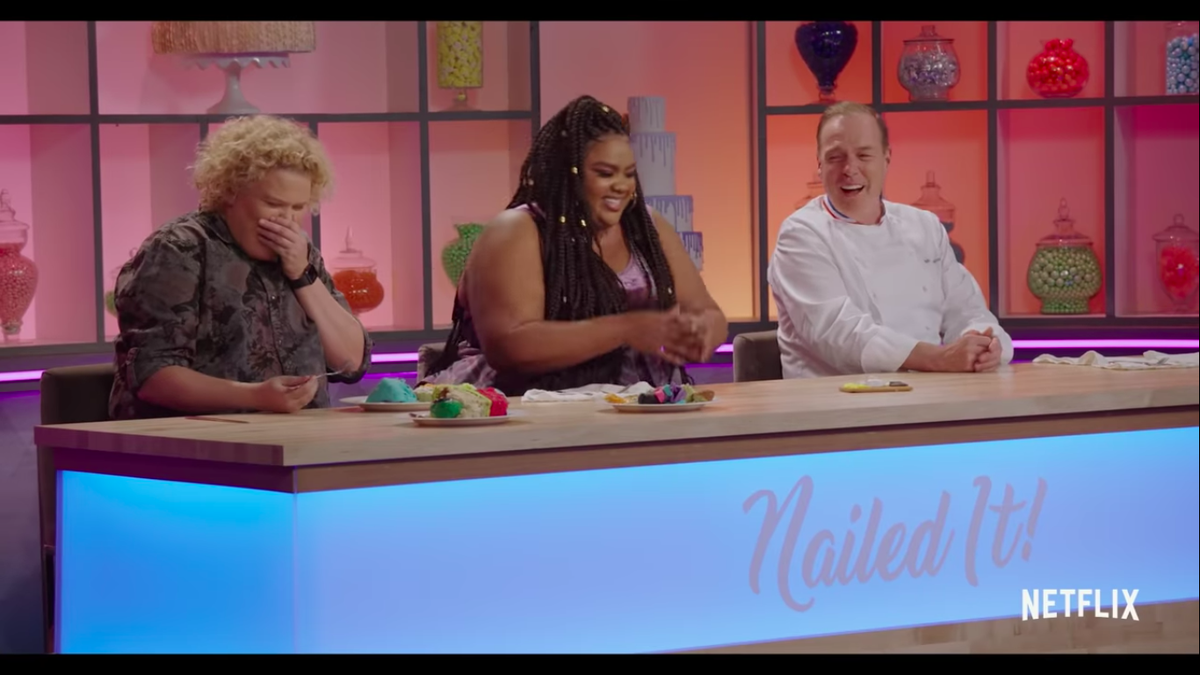 Judges from Netflix's Nailed It!
