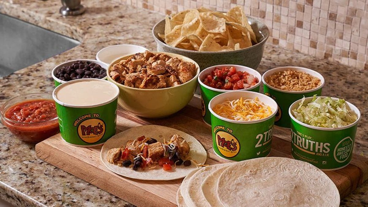 Moe's build-your-own taco kit