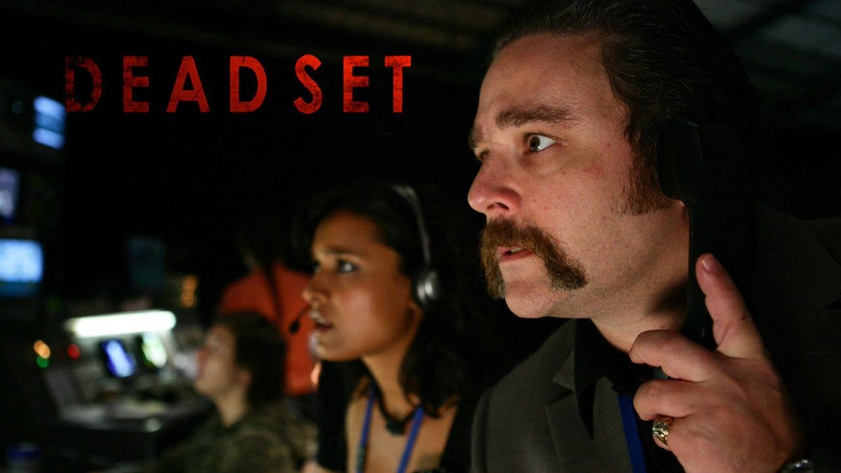 Promotional poster for the British TV show Dead Set.