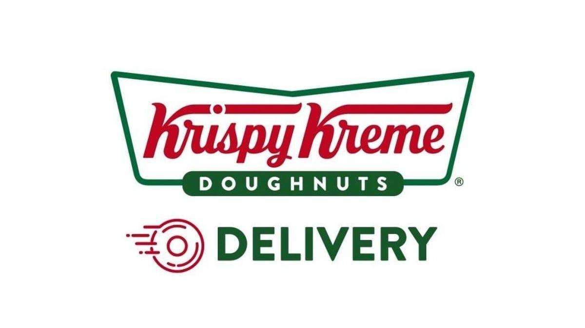 krispy kreme delivery logo