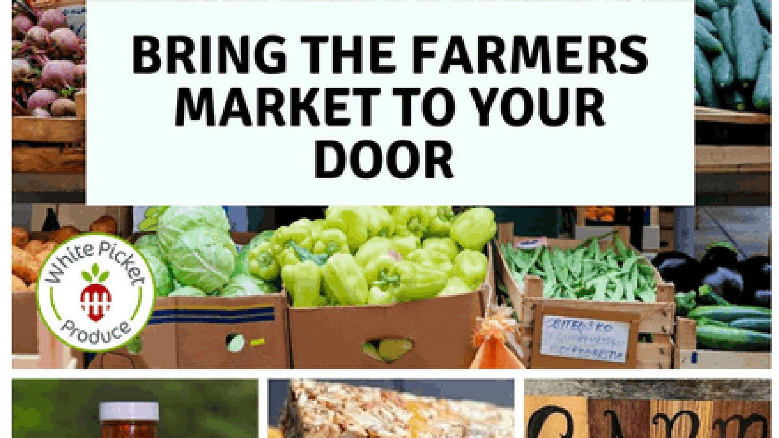 The White Picket Produce website.