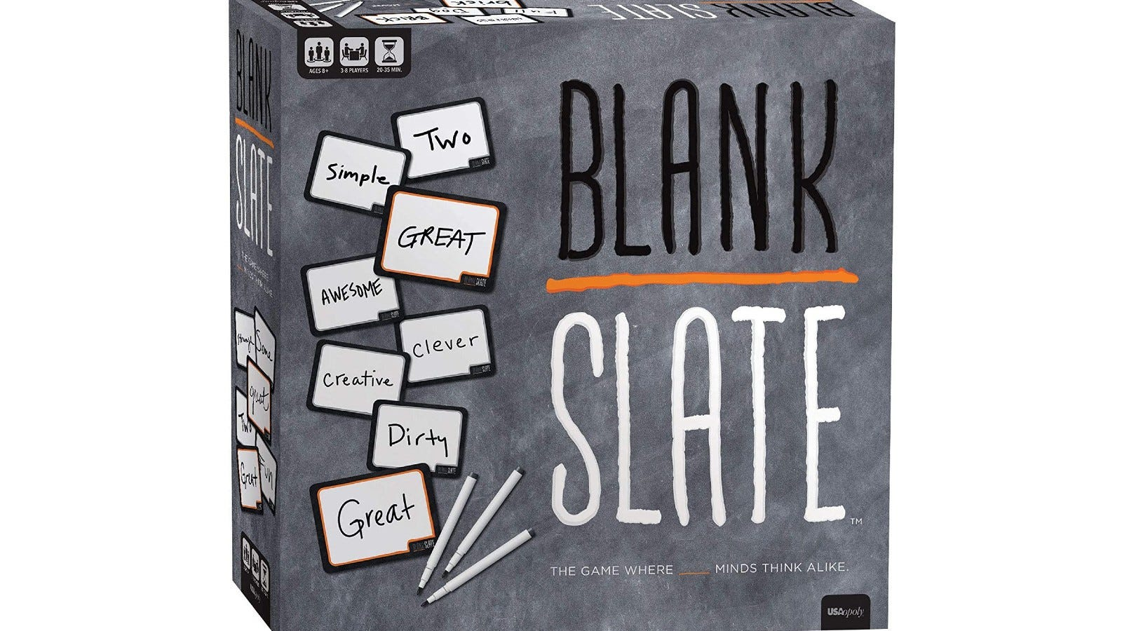 The Blank Slate game box.