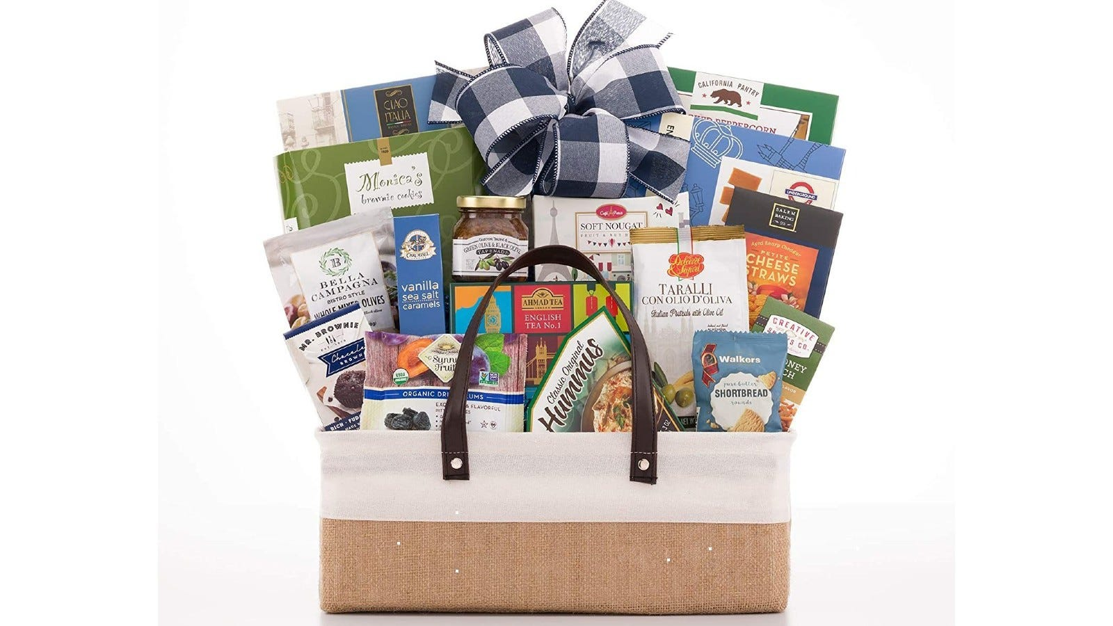 The New Parents Gourmet Gift Basket.