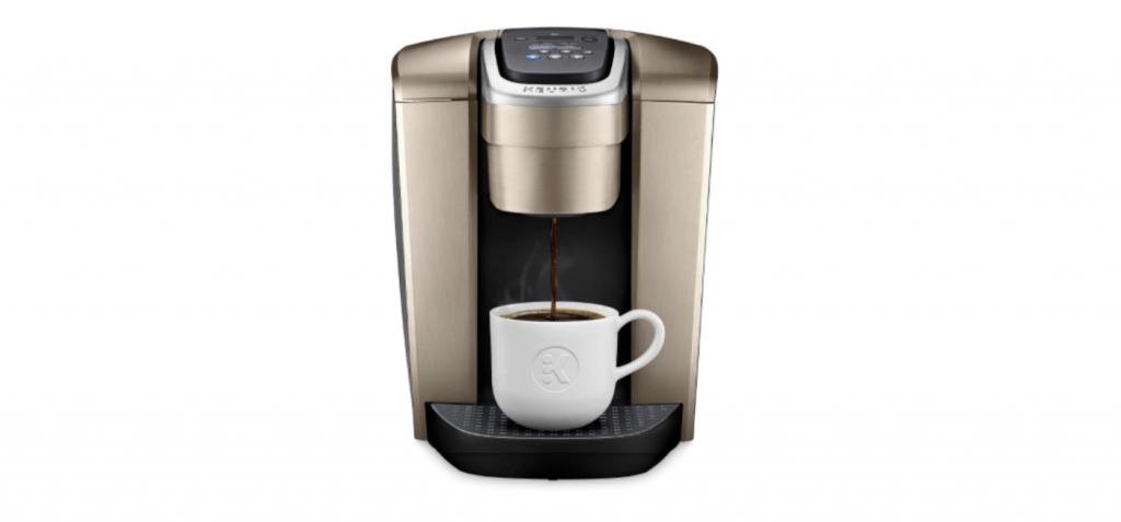 Keurig K-Elite Coffee Maker in brushed gold finish