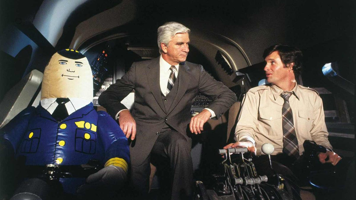 Scene from the 1980 comedy 'Airplane!'.