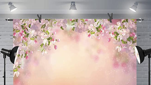 Beautiful Flower Backdrops for Photography