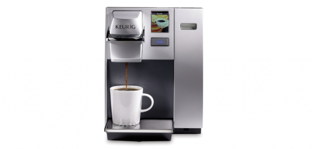 Keurig K155 Office Pro Coffee Maker in silver finish