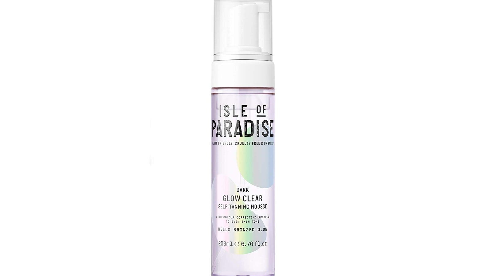 Isle of Paradise Glow Clear Self-Tanning Mousse