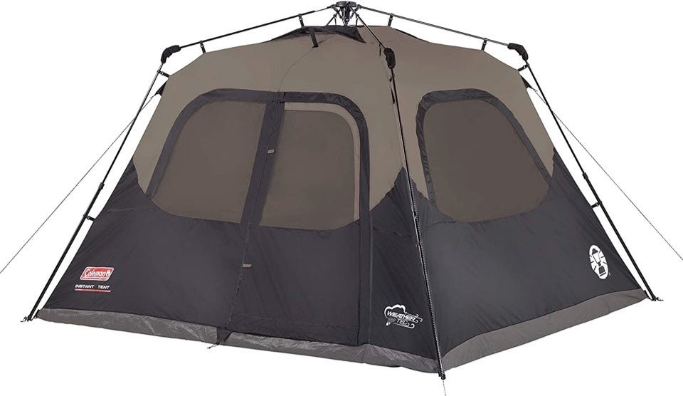 The Coleman Cabin Tent.