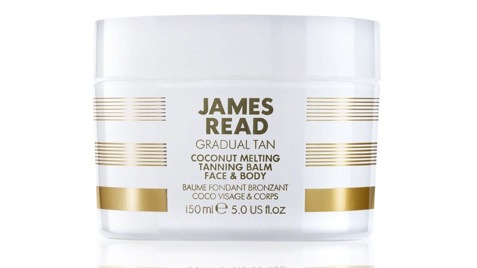 James Read Tan Coconut Melting Tanning Balm