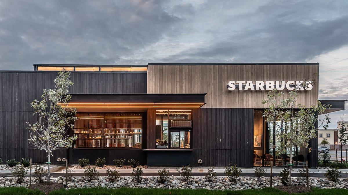 Starbucks location.