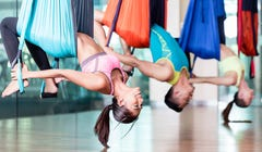 How to Practice Aerial Yoga at Home