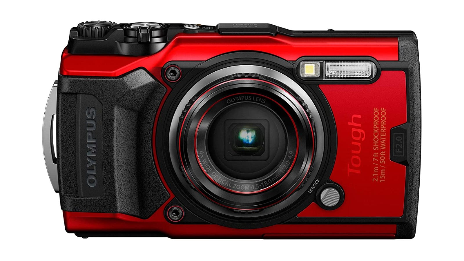 red and black camera