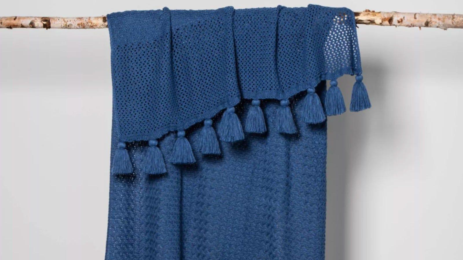 Opalhouse Chunky Knit Throw Blanket