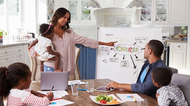 Schedule Family Meetings to Keep Your Household Running Smoothly