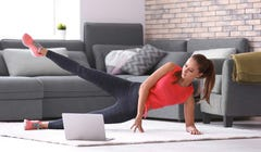 How to Track and Advance Your Progress When Working Out at Home