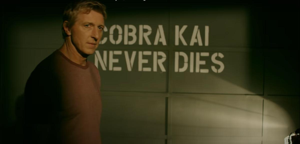 """William Zabka as Johnny Lawrence in """"Cobra Kai."""""""