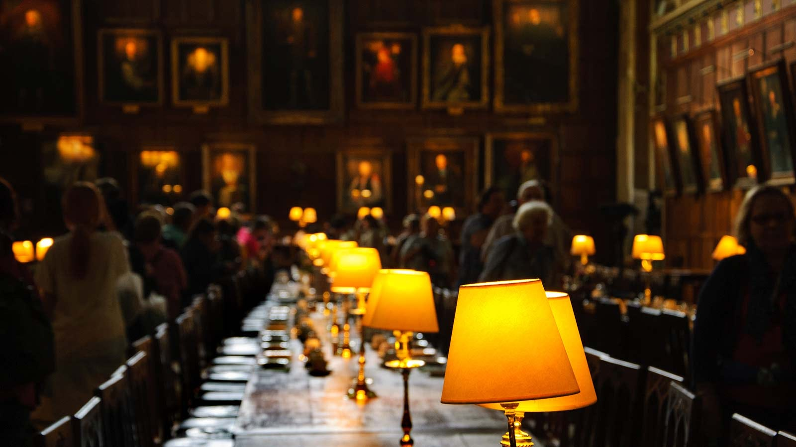 Great Dining Hall at the University of Oxford