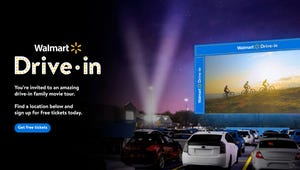 Walmart to Screen Free Drive-In Films Starting This August