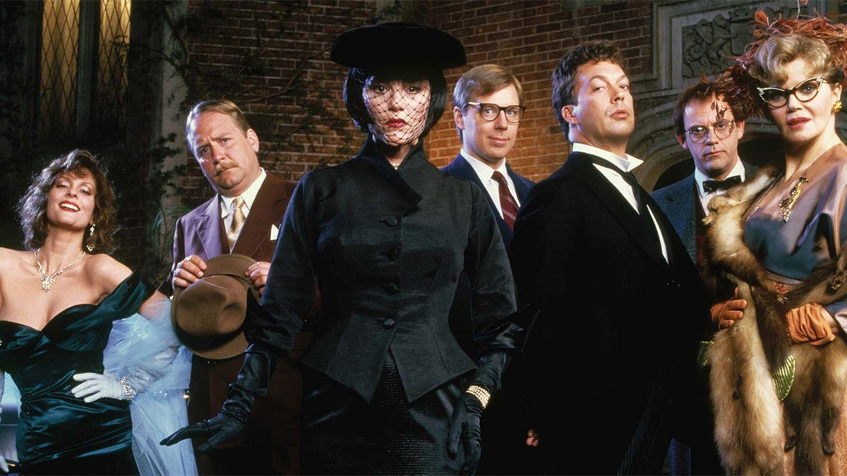 """The cast of the 1985 film """"Clue."""""""