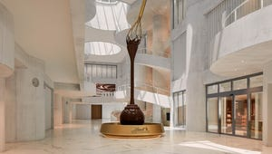 Here's Where to See the World's Largest Chocolate Fountain