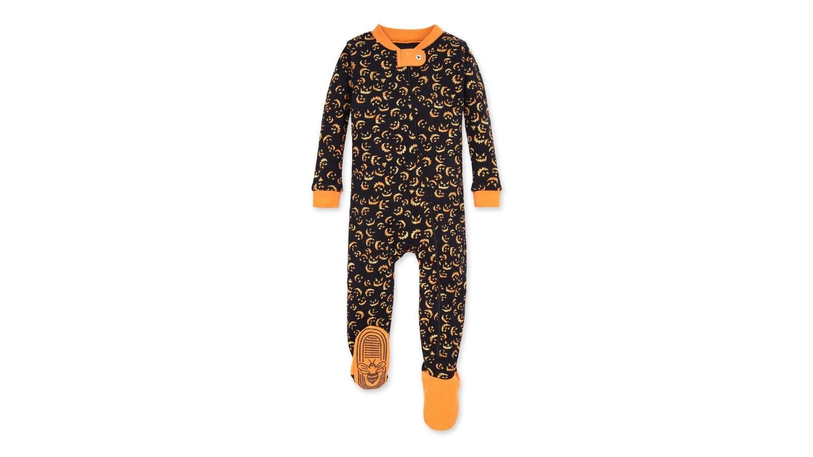 Burt's Bees Baby Lanterns in the Dark Pajamas.