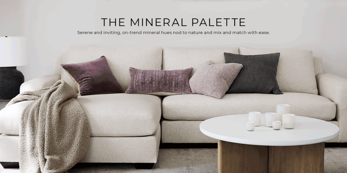 Pottery Barn's neutral tone Mineral Pallet