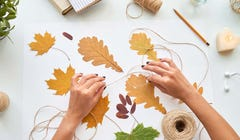 Here's How to Preserve Fall Leaves for Natural Home Decor
