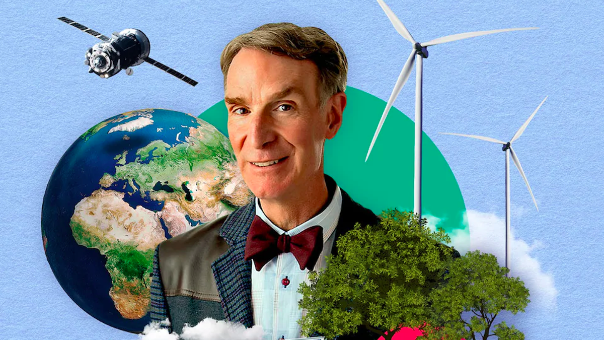 Bill Nye in an ad for his new online course.