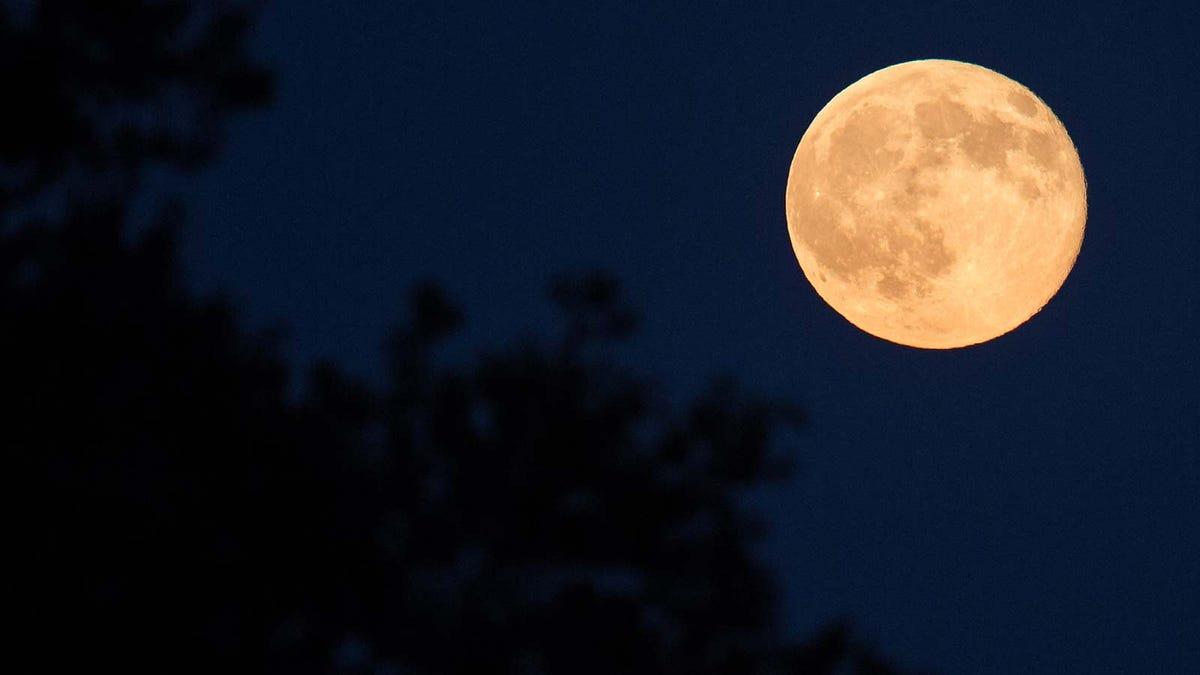 A full blue moon.