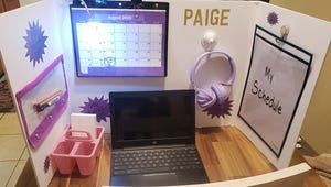 8 Great Reasons to Make Your Kid a Poster Board Cubicle