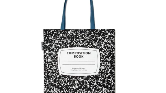 The Composition Book Tote Bag.