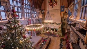 You Can Watch the Biltmore's Christmas Tree Raising Online This Year