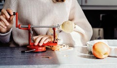 Peel, Slice, and Core Apples in Seconds with This Fun Gadget