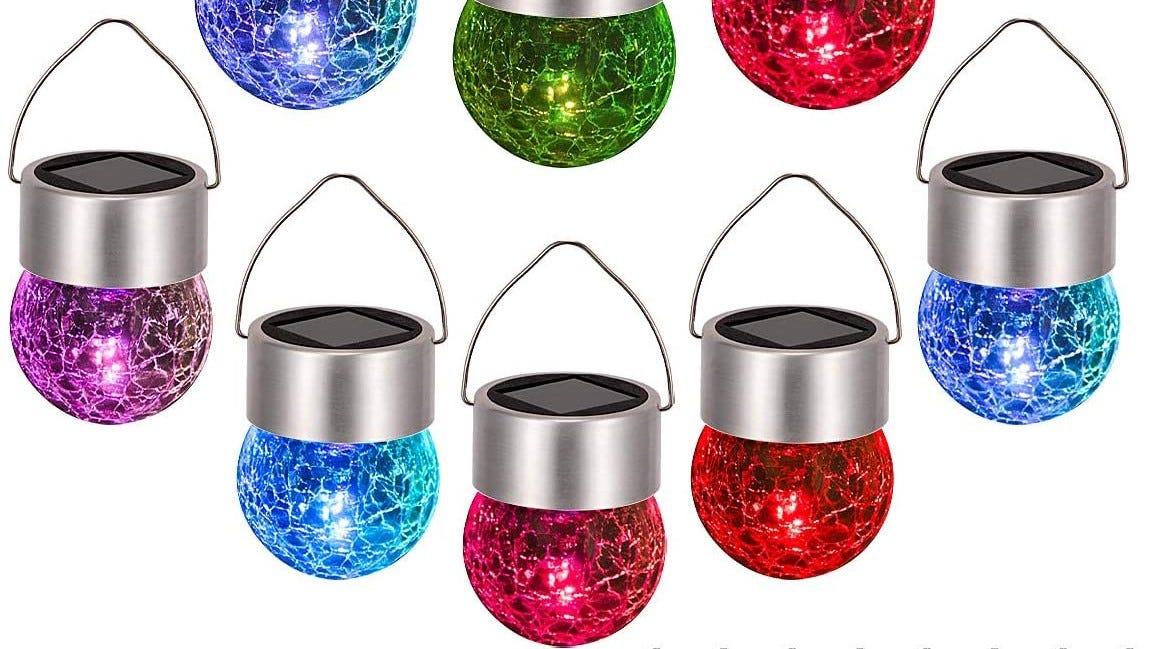 Mutli-colored Christmas lights