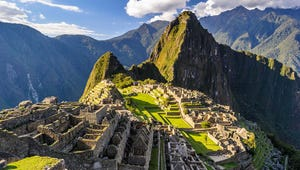 A Single Tourist Was Allowed to Tour Machu Picchu Alone