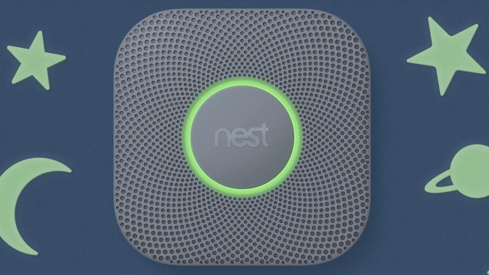 The Google Nest Sensor.