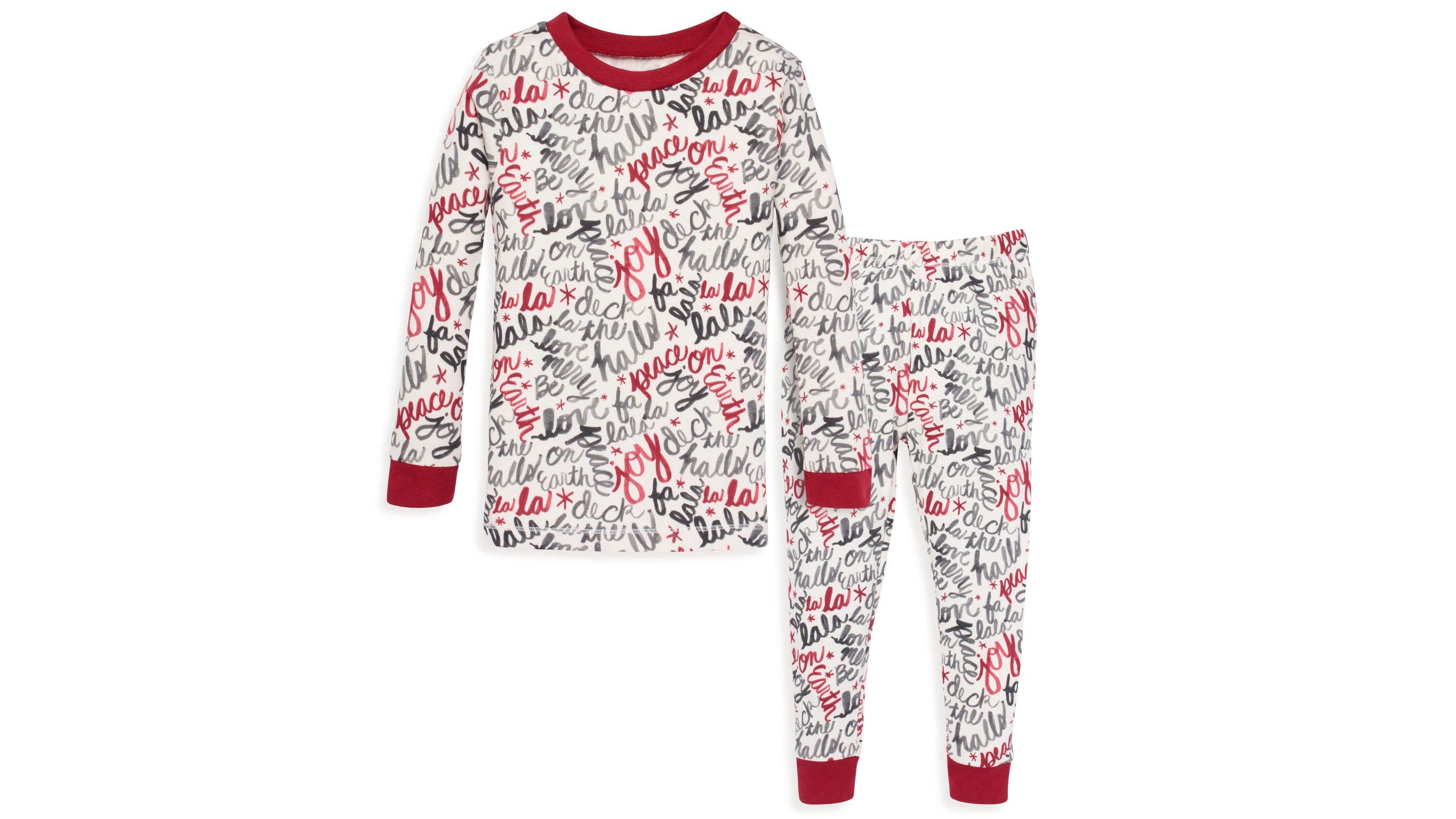 Burt's Bees Baby Holiday Carols Organic Baby Pajamas