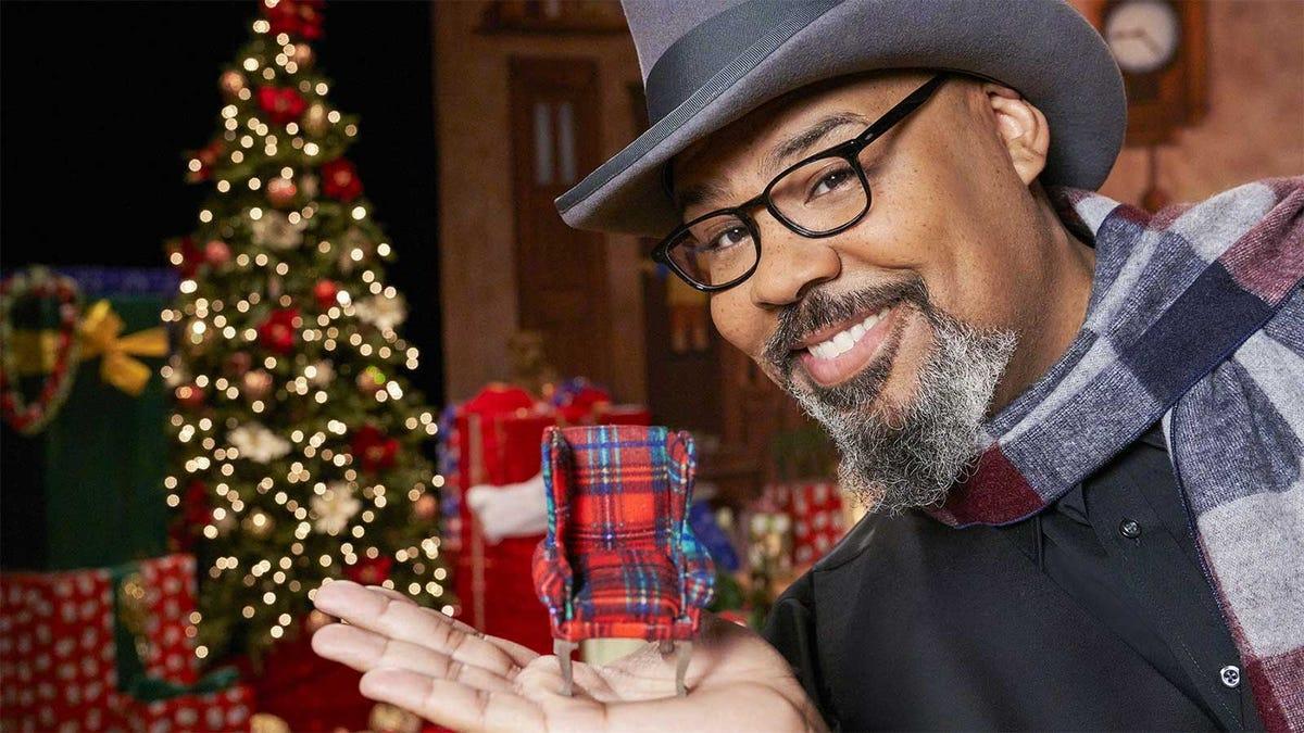James Monroe Iglehart, host of HGTV's holiday mini-series, 'The Biggest Little Christmas Showdown'